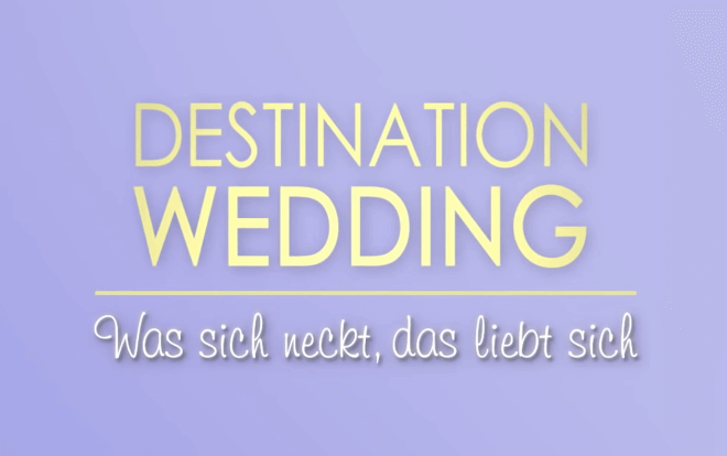 DESTINATION WEDDING Trailer German Deutsch (2018)